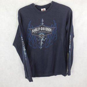 VTG Harley-Davidson Long Sleeve Tribal Flames Tee